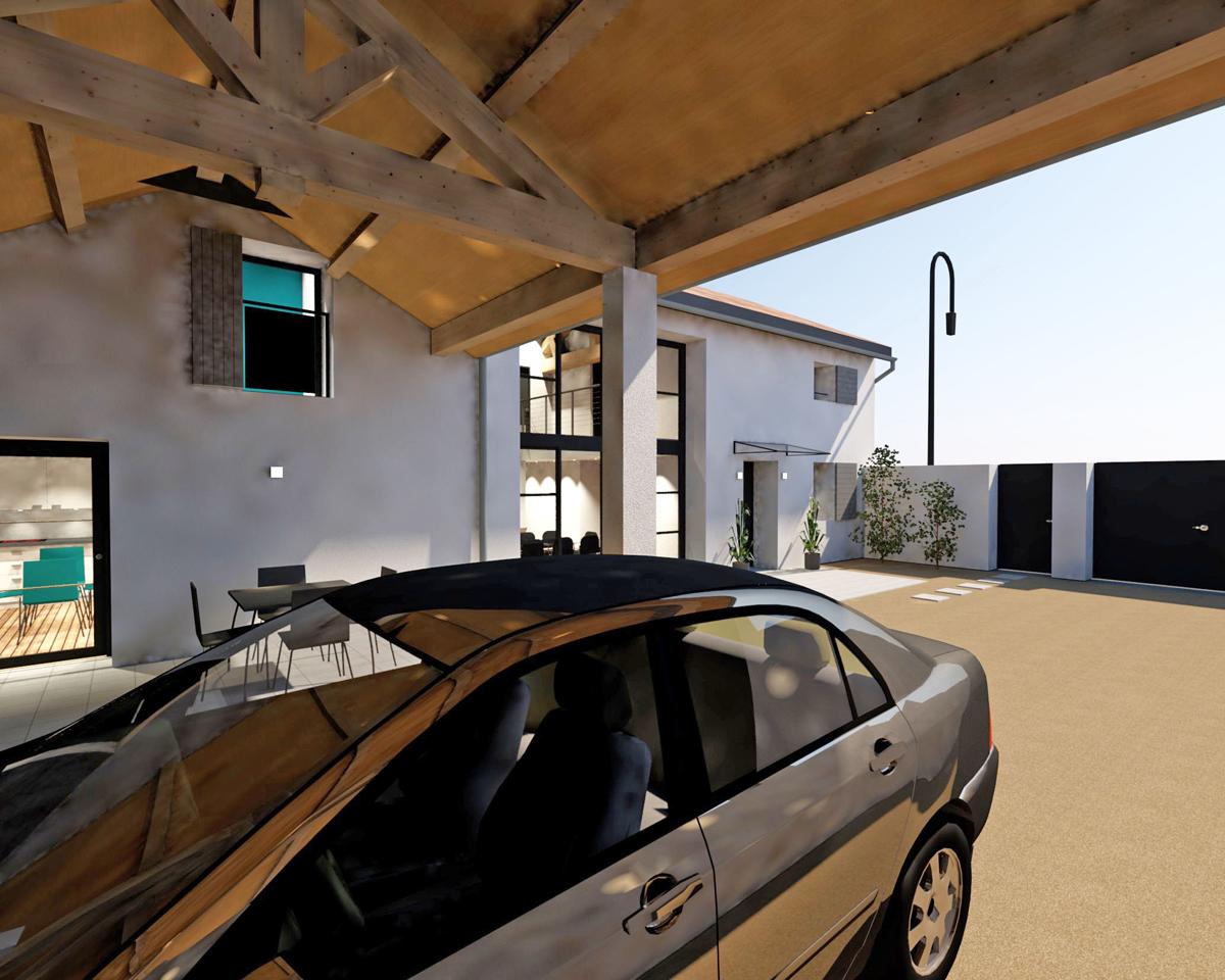 Perspective 3D réalisée par ACL