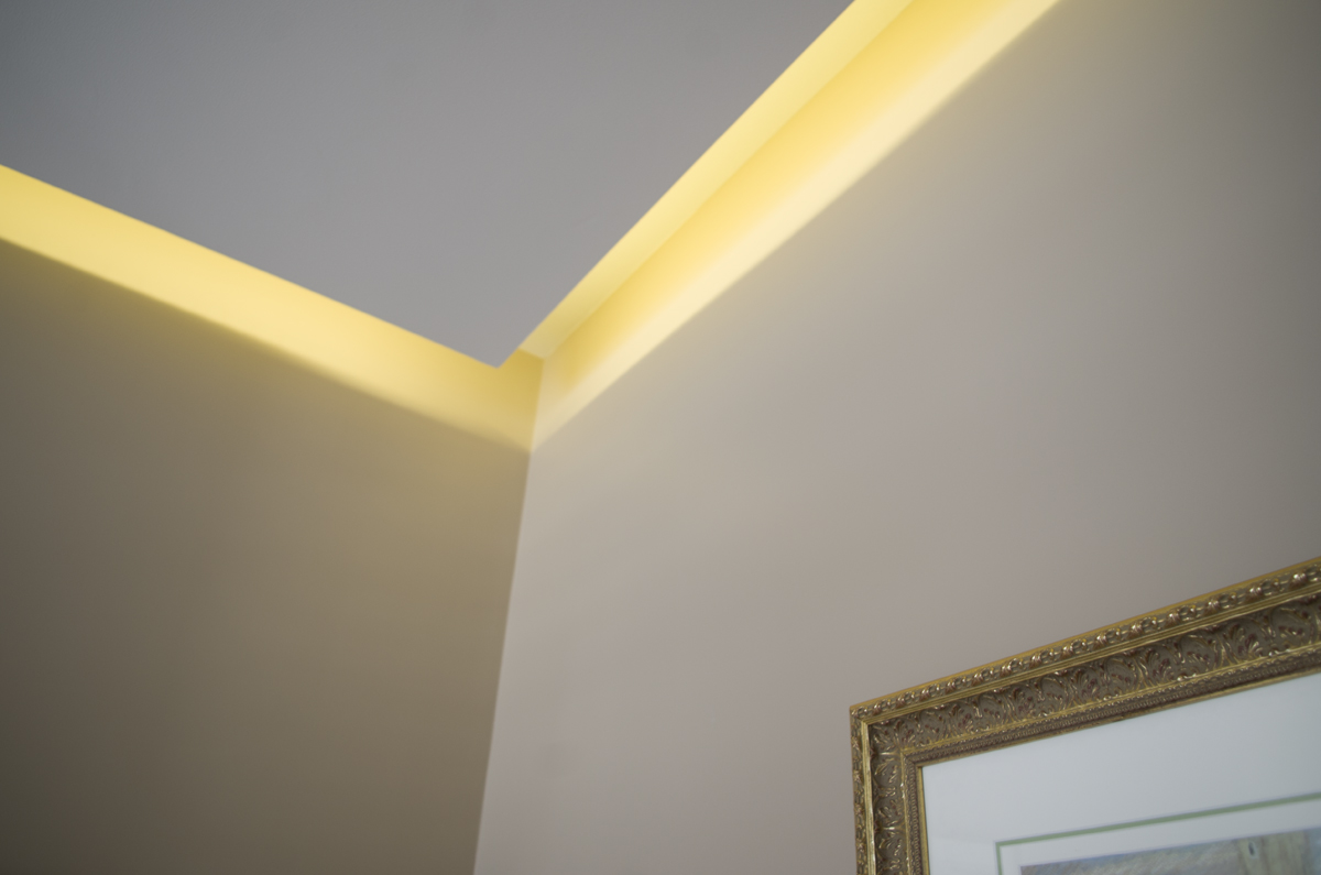 Détail sur l'éclairage zénithal